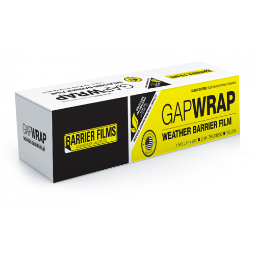 GapWrap Film Protects vehicle interior from weather by covering gaps. Approved  3 Film Protects vehicle interior during wet or dry sanding procedures and remains in place for painting or baking. Approved for three days in direct sunlight.